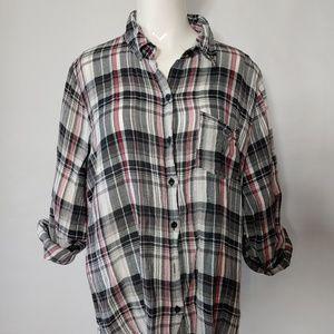 Lightweight Flannel Button Up Size 1X